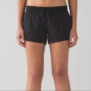 Lululemon | Hotty Hot Shorts Black Drawstring